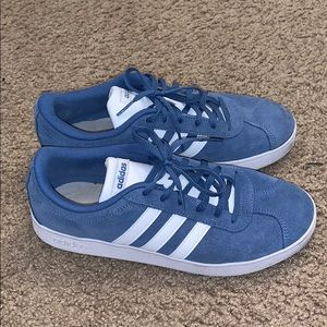 Adidas Blue VL Court sneakers